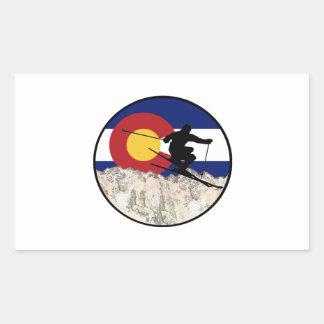 Rocky Mountain Pass Sticker