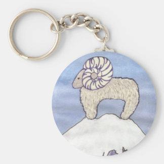 Rocky Mountain Ram Keychain