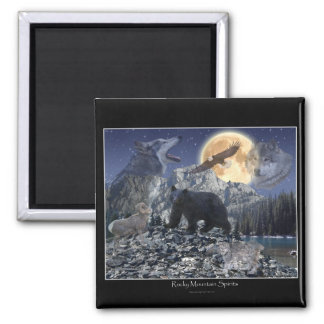 ROCKY MOUNTAIN SPIRITS Art Magnet