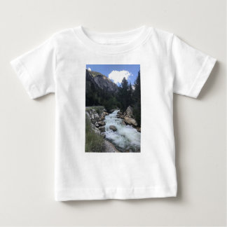 Rocky Mountain Stream Baby T-Shirt