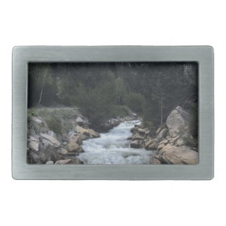 Rocky Mountain Stream Belt Buckles