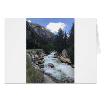 Rocky Mountain Stream Card