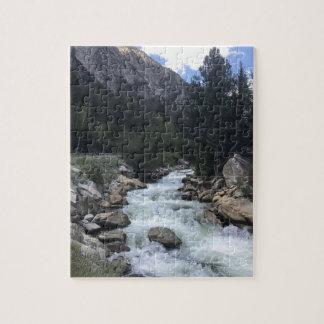 Rocky Mountain Stream Jigsaw Puzzle