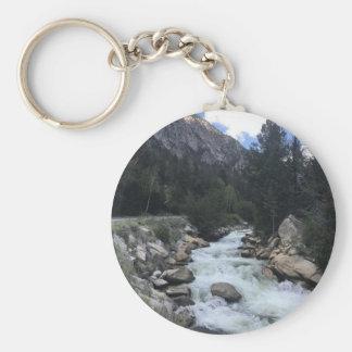 Rocky Mountain Stream Keychain