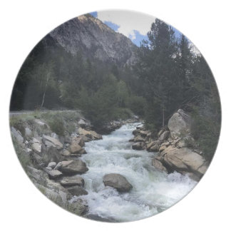 Rocky Mountain Stream Plate