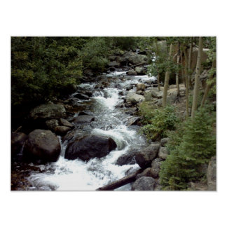 Rocky Mountain Stream Posters
