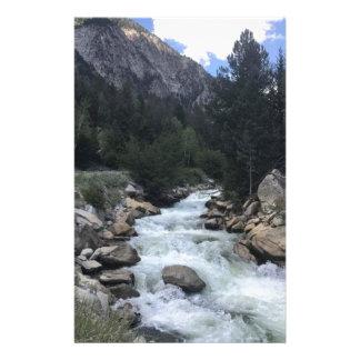 Rocky Mountain Stream Stationery