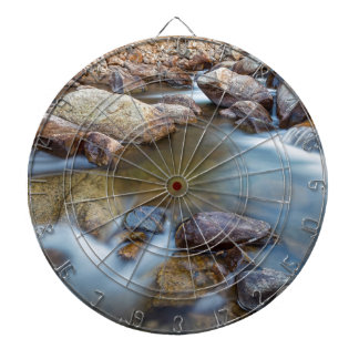 Rocky Mountain Streaming Dreaming Dartboard With Darts