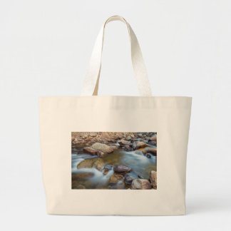 Rocky Mountain Streaming Dreaming Large Tote Bag