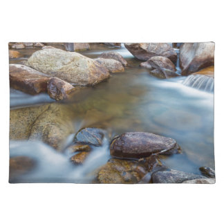 Rocky Mountain Streaming Dreaming Place Mat