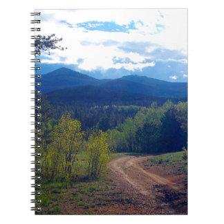 Rocky Mountain Wilderness Spiral Notebook