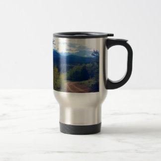 Rocky Mountain Wilderness Travel Mug