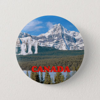Rocky Mountains Canada 2 Inch Round Button