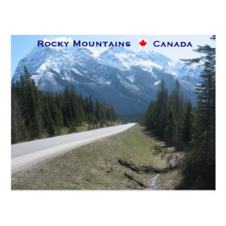 Rocky Mountains Canada Postcard