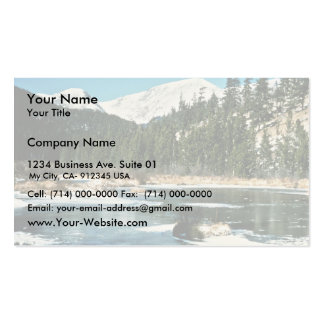 Rocky Mountains, National Park Business Cards