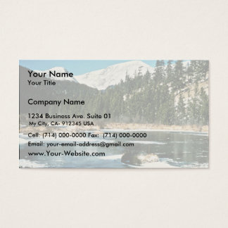 Rocky Mountains, National Park Business Card
