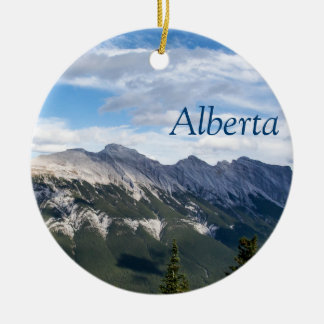 Rocky Mountains ornament - Alberta