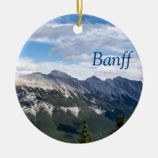 Rocky Mountains ornament - Banff