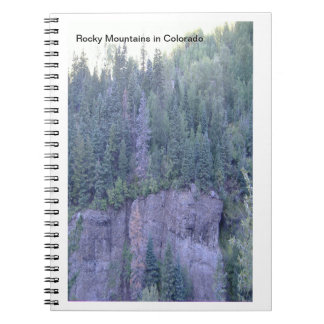 Rocky Mountains Photo Notebook
