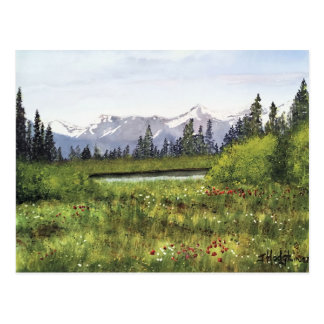 ROCKY MOUNTAINS POST CARD