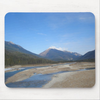 Rocky Mountains Stream mousepad