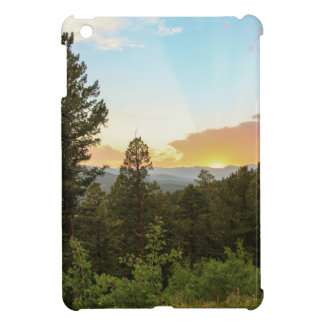 Rocky Mountains Sunset Cover For The iPad Mini