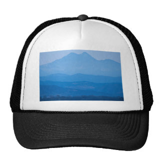 Rocky Mountains Twin Peaks Blue Haze Layers.jpg Trucker Hat