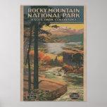 Rocky Mt. Nat'l Park Brochure # 2 Poster