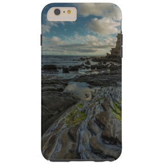 Rocky ocean shore tough iPhone 6 plus case