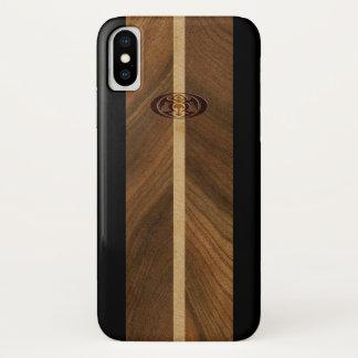Rocky Point Hawaiian Faux Wood Surfboard Case-Mate iPhone Case