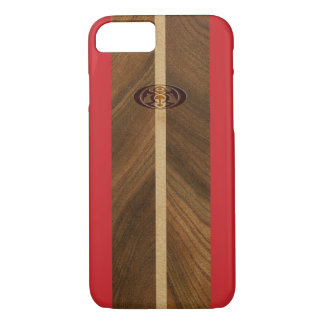 Rocky Point Hawaiian Faux Wood Surfboard Case-Mate iPhone Case