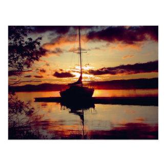 Rocky Point Sunset Postcard