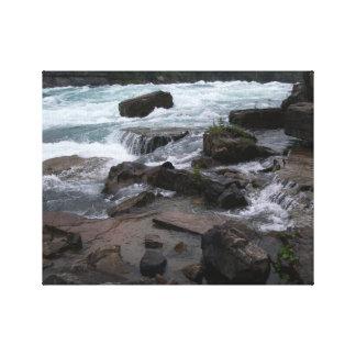Rocky Rapids at Niagara Falls Canvas