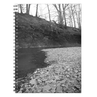 Rocky Riverbed Spiral Notebook