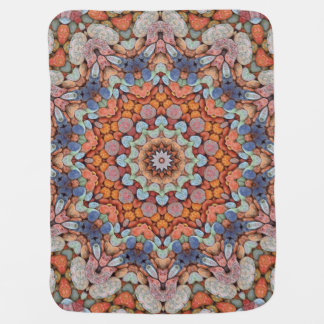 Rocky Roads Colorful Baby Blankets