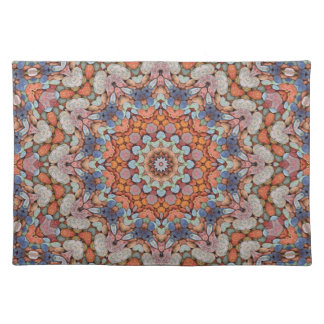 Rocky Roads  Colorful Cloth Placemats