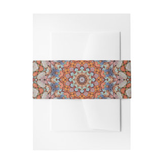 Rocky Roads  Colorful Invitation Belly Band