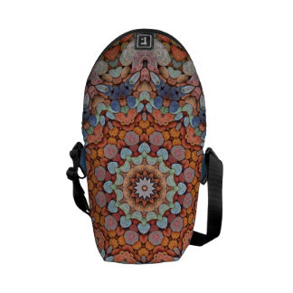 Rocky Roads  Colorful Messenger Bags