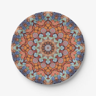 Rocky Roads  Colorful Paper Plates