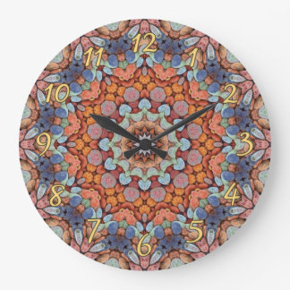 Rocky Roads  Colorful Wall Clocks