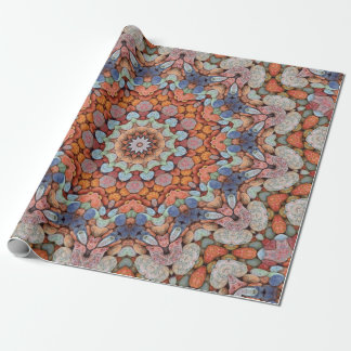 Rocky Roads  Colorful Wrapping Paper