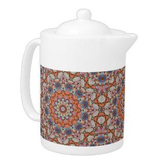Rocky Roads  Kaleidoscope   Colorful Teapots