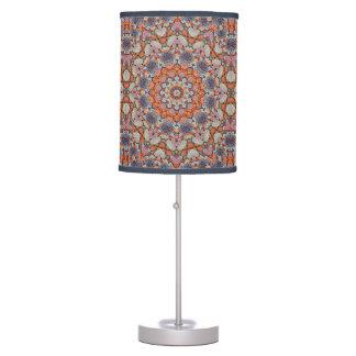 Rocky Roads  Kaleidoscope  Table Lamp