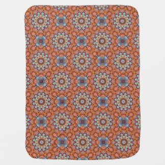 Rocky Roads  Tiled Design Baby Blankets