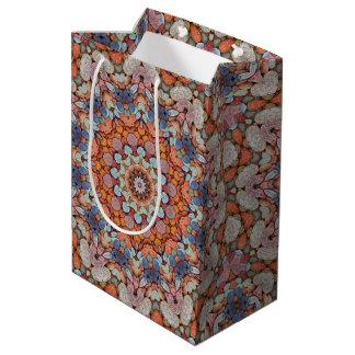 Rocky Roads Vintage Kaleidoscope Medium Gift Bag
