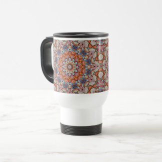 Rocky Roads Vintage Kaleidoscope   Travel Mug