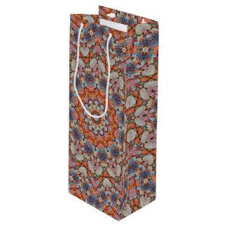 Rocky Roads Vintage Kaleidoscope   Wine Bags