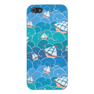 Rocky Sea Pattern iPhone 5 Covers