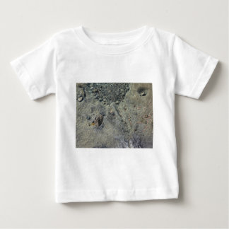 Rocky seabed through transparent sea water baby T-Shirt