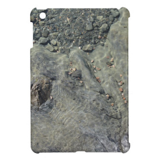Rocky seabed through transparent sea water cover for the iPad mini